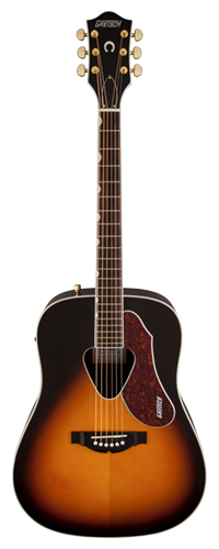VIOL�O RANCHER DREADNOUGHT GRETSCH G5024E ACOUSTIC COLLECTION - 271-4035-500 - SUNBURST