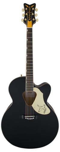 VIOL�O RANCHER FALCON JUMBO CUTAWAY GRETSCH G5022CBFE ACOUSTIC COLLECTION - 271-4024-506 - BLACK