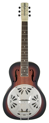 RESONATOR GRETSCH DELUXE BOBTAIL G9230 ELECTROACOUSTIC SQUARE-NECK - 271-6023-503 - 2-COLOR SB