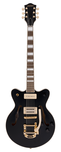 GUITARRA GRETSCH G2655TG-P90 STREAMLINER JR CENTER BLOCK DC LTD EDITION BIGSBY 280-9400-506 BLACK