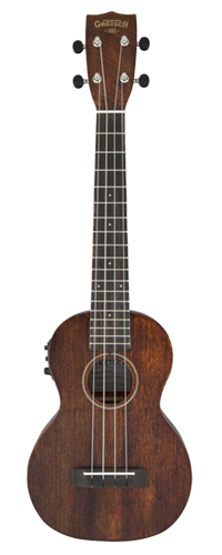 UKULELE GRETSCH G9110-L CONCERT ELETROACUSTICO LONG NECK - 273-2031-321 - NATURAL