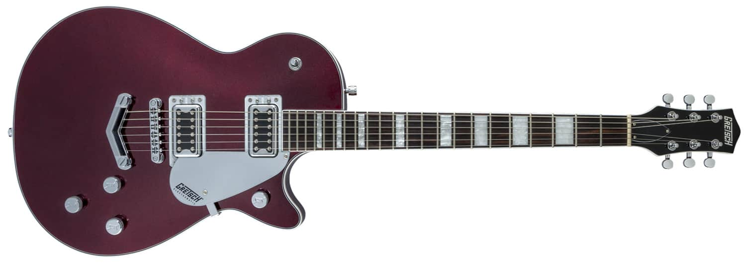 GUITARRA GRETSCH G5220 ELECTROMATIC JET BT SINGLE CUT V-STOPTAIL - 251-7110-539 - CHERRY METALLIC