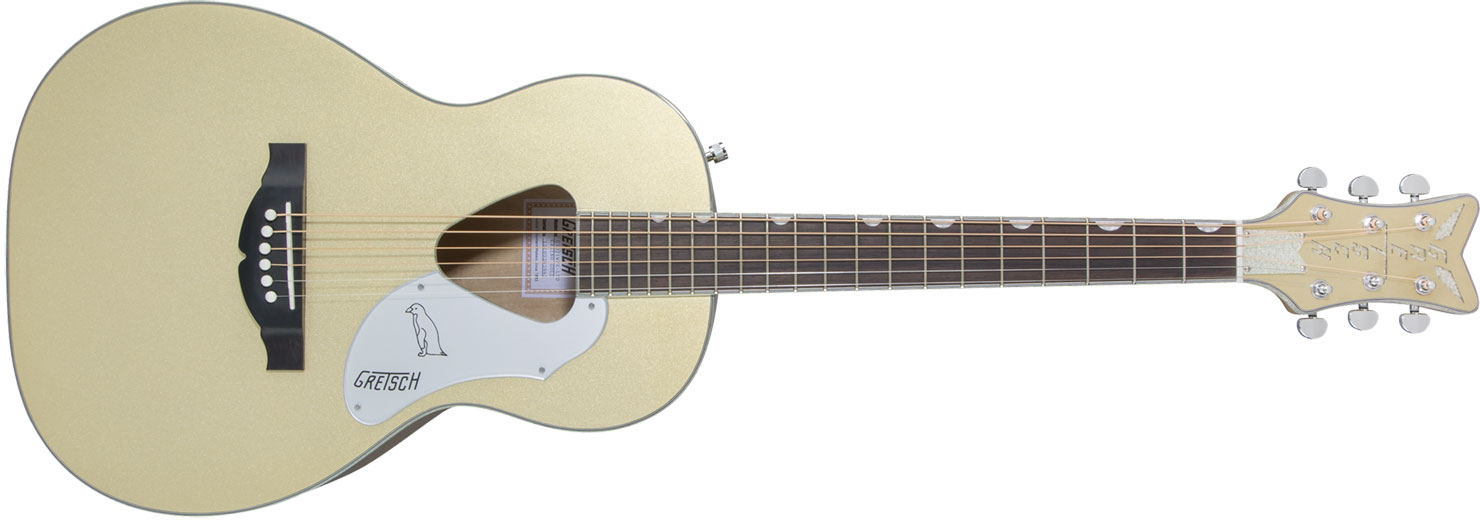 VIOL�O RANCHER PENGUIN PARLOR GRETSCH G5021E LTD ED ACOUSTIC COLLECTION - 271-4014-579 -CASINO GOLD