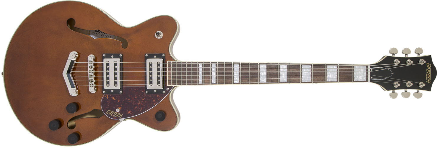GUITARRA GRETSCH G2655 STREAMLINER JR CENTER BLOCK DOUBLE CUTAWAY - 280-6500-593 - S.BARREL STAIN