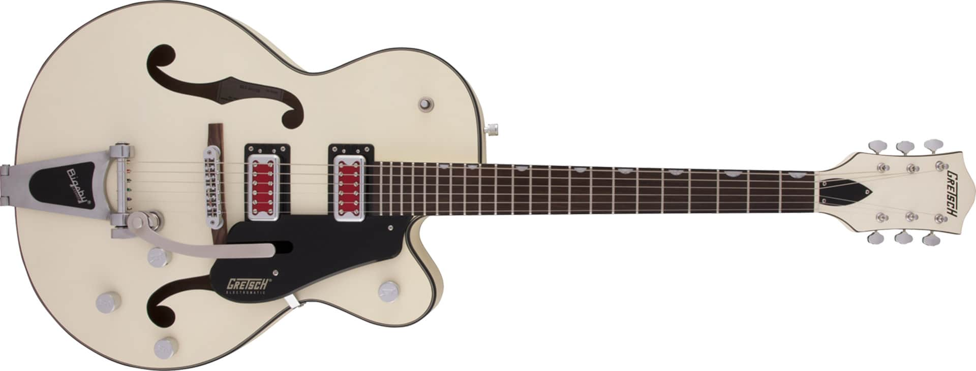 GUITARRA GRETSCH G5410T ELECTROMATIC RAT ROD HOLLOW BODY CUTAWAY W/BIGSBY 250-6811-505 VINTAGE WHT